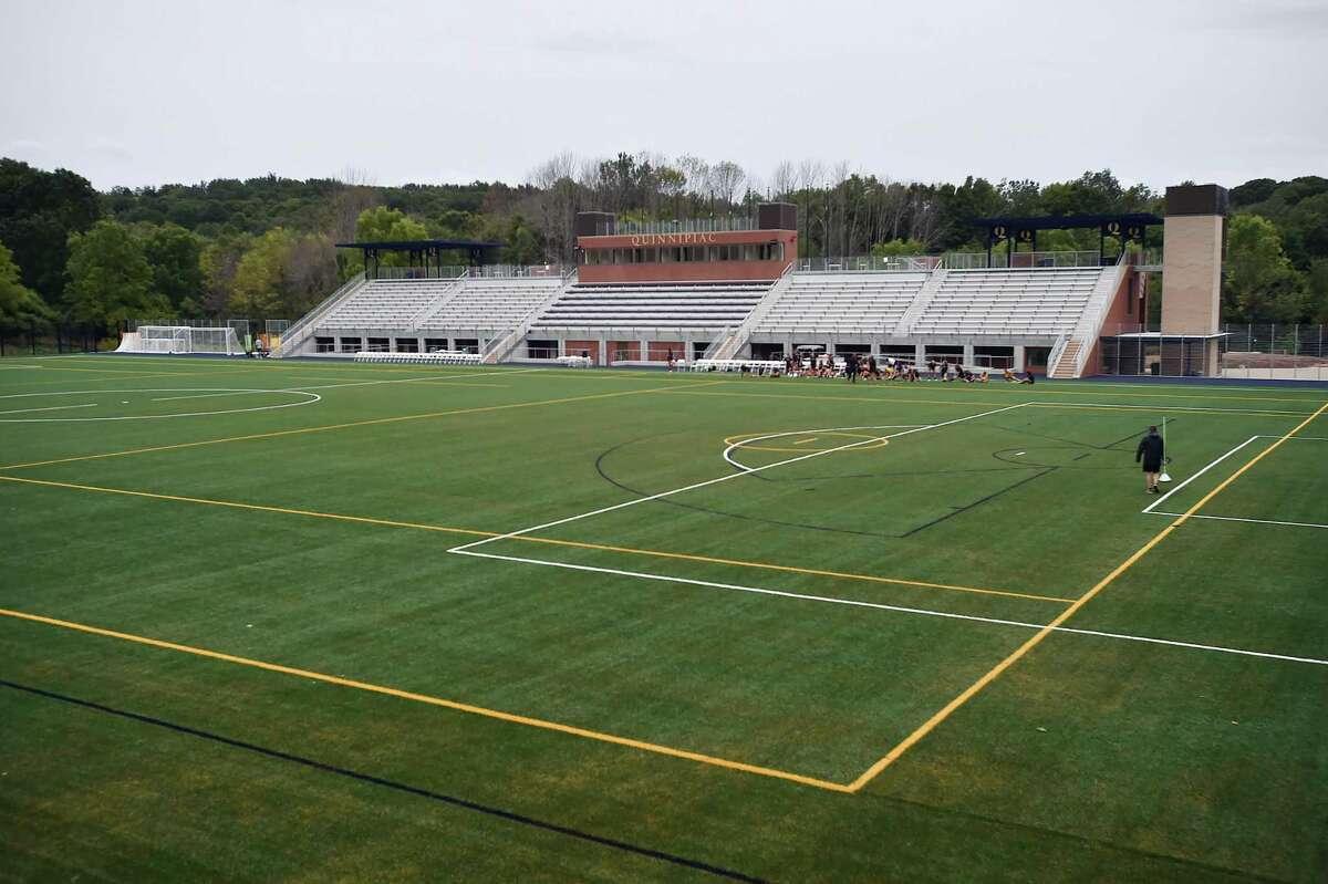 Quinnipiac University's field hockey facility.