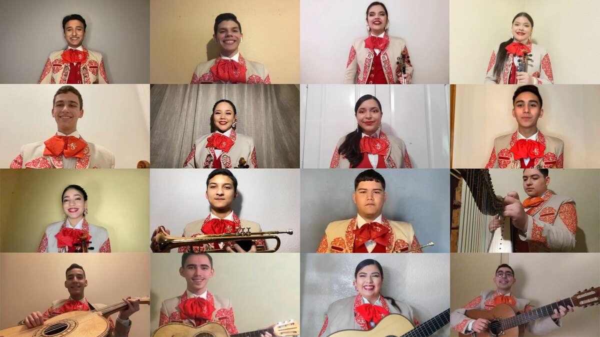 Mariachi Nuevo Santander will debut a virtual recording of