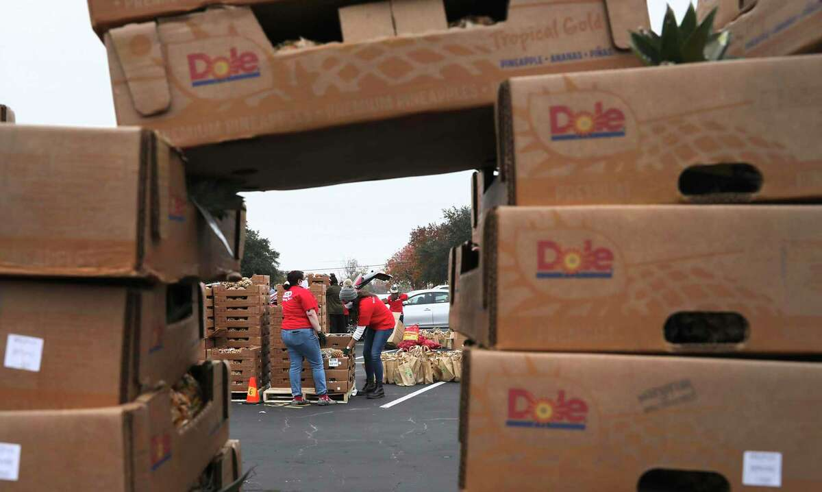 Are your finances OK without a stimulus check? Consider making a donation to the San Antonio Food Bank or helping a family suffering through the pandemic, a reader suggests.