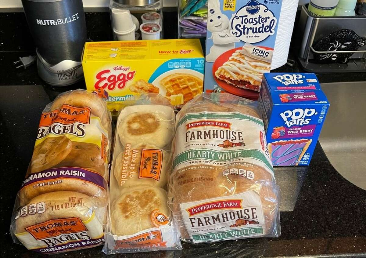 To porperly test the Revolution toaster, I bought bagels, English muffins, bread, Pop-Tarts, toaster strudels, and waffles