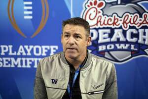 Pete Kwiatkowski, reportedly heading for Texas, has been Washington's defensive coordinator the past seven seasons.