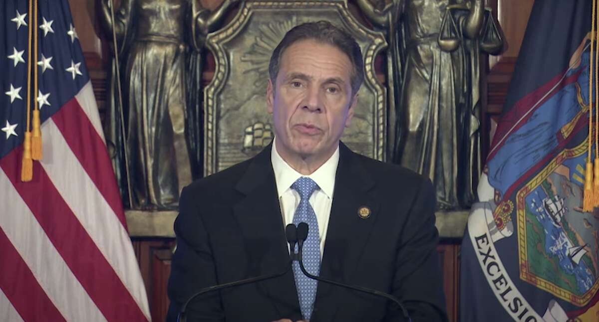 Gov. Andrew M. Cuomo delivered his 2021 budget proposal virtually.