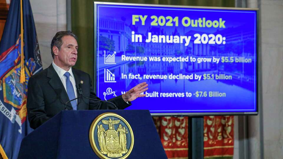 Cuomo: New York's financial future depends on federal government's help