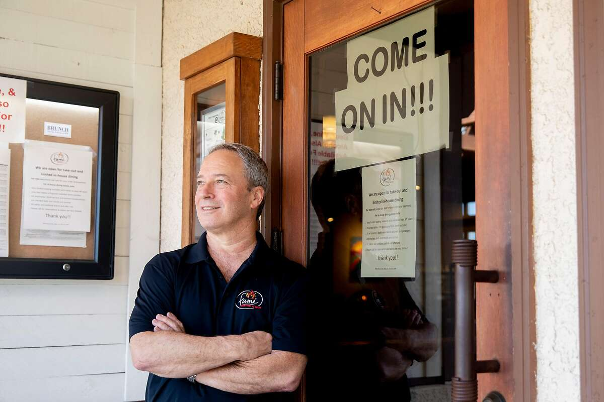 Fumé Bistro owner Terry Letson made waves for allowing dine-in service for two nights in May.