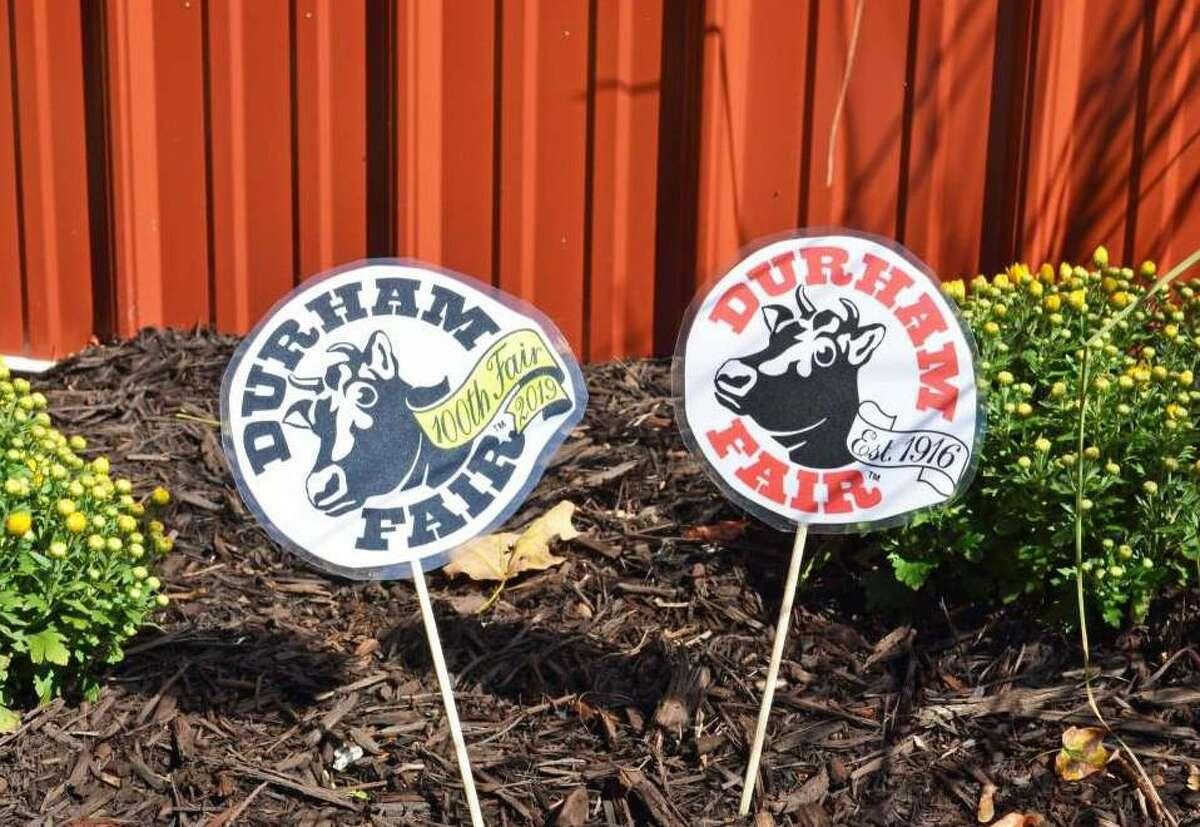 Logos from the 2019 Durham Fair