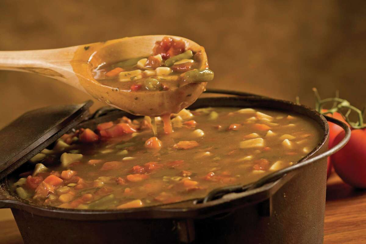 Preparing soups, sauces and stews is also an excellent way to incorporate nutritious ingredients such as garlic, onions, greens, grains and other bits of this and that from the refrigerator.