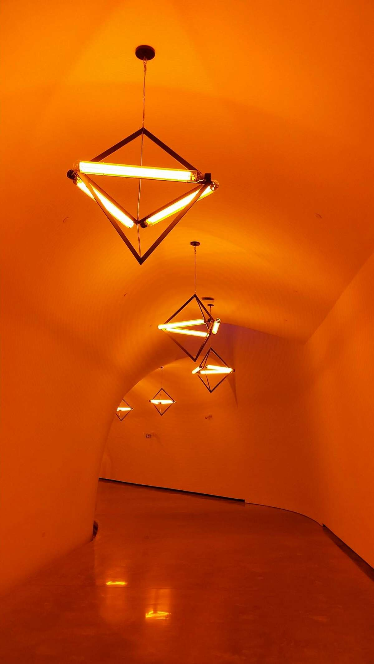 Olafur Eliasson's light installation