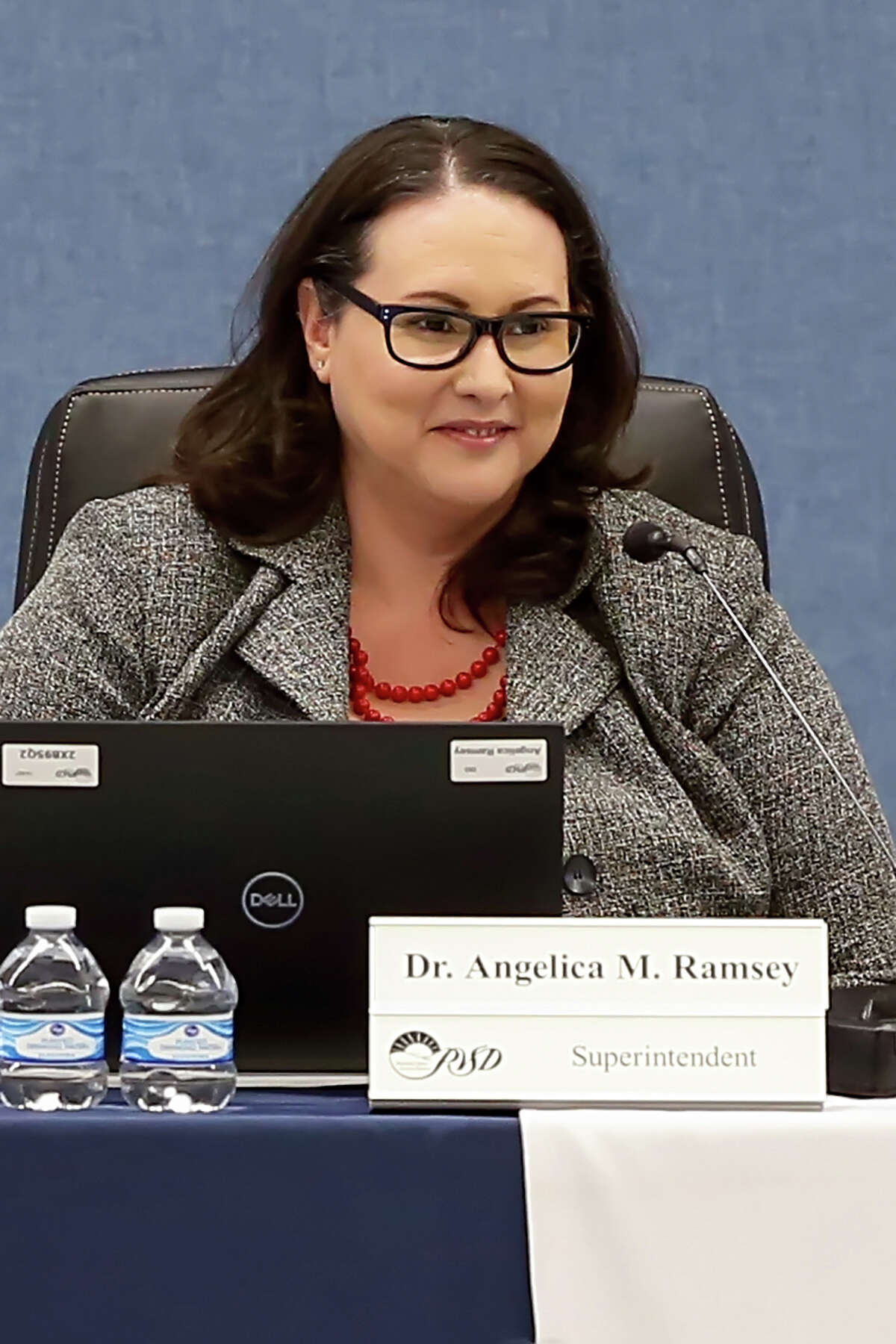 Angelica Ramsey is the lone finalist to become the next superintendent of MISD schools.