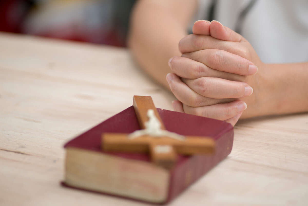 """""""We've seen in our congregation and our community a great need to come together to pray and find support and encouragement for all the challenges and changes that we see around our nation,"""" said Adam Dichsen, pastor at Faith Lutheran Church."""