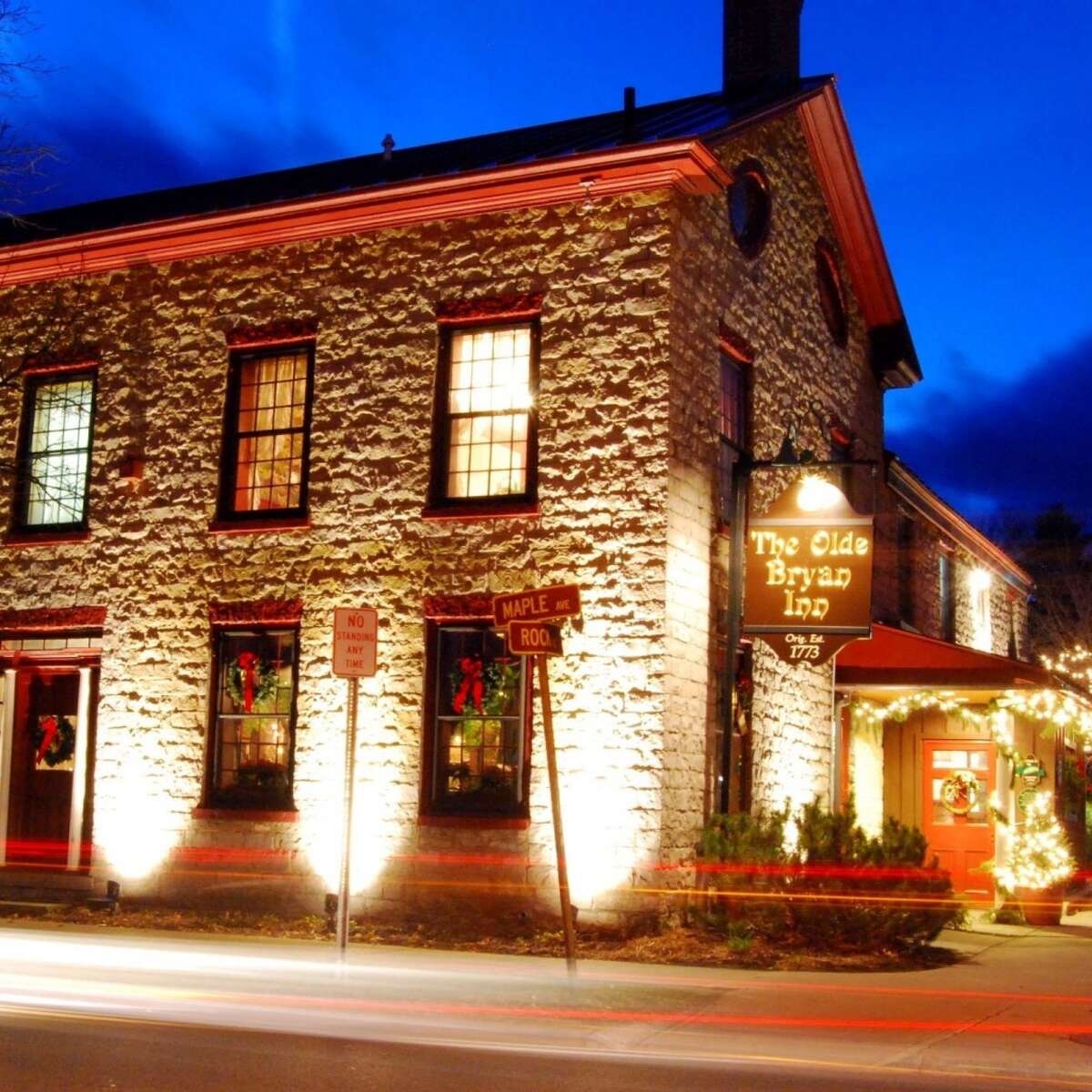 The Olde Bryan Inn in Saratoga Springs closed it's dining room