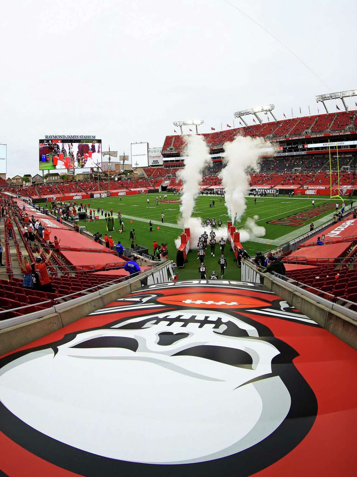 Raymond James Stadium in Tampa, Fla., will host WWE's WrestleMania 37 on April 10 and April, 11, 2021.