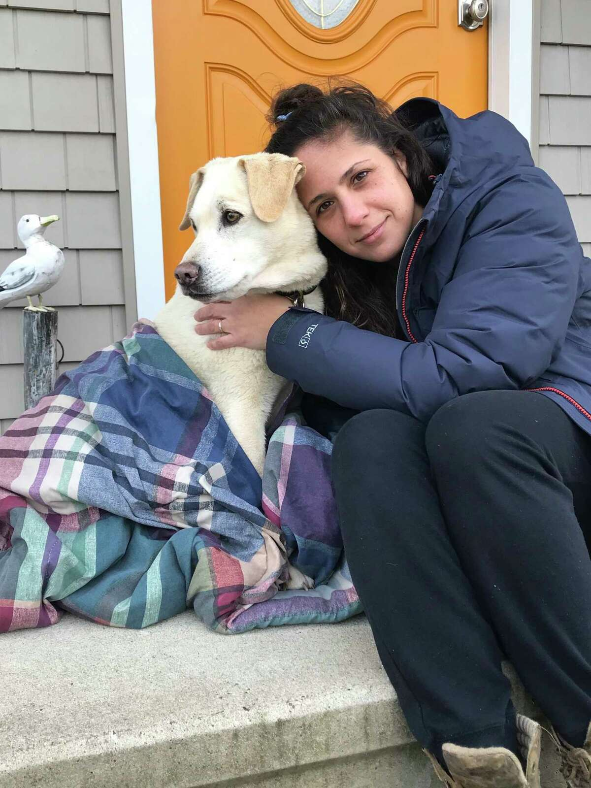 After six weeks of searching, Brandi Solomon was reunited with her dog, Lexi, early Sunday morning, Jan. 17.