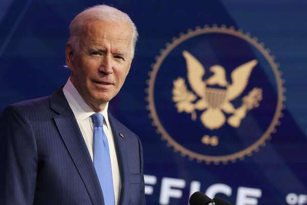 WILMINGTON, DELAWARE - DECEMBER 11: U.S. President-elect Joe Biden speaks during an event to announce new Cabinet nominations at the Queen Theatre on December 11, 2020, in Wilmington, Delaware. (Photo by Chip Somodevilla/Getty Images)