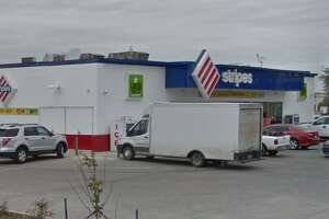 Stripes Convenience Store at the intersection of Calton and McPherson roads is pictured.