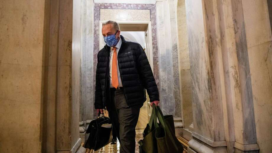 Minority Leader Chuck Schumer, D-N.Y., has a robust agenda planned for the Senate. Photo: Photo For The Washington Post By Amanda Voisard / Amand Voisard