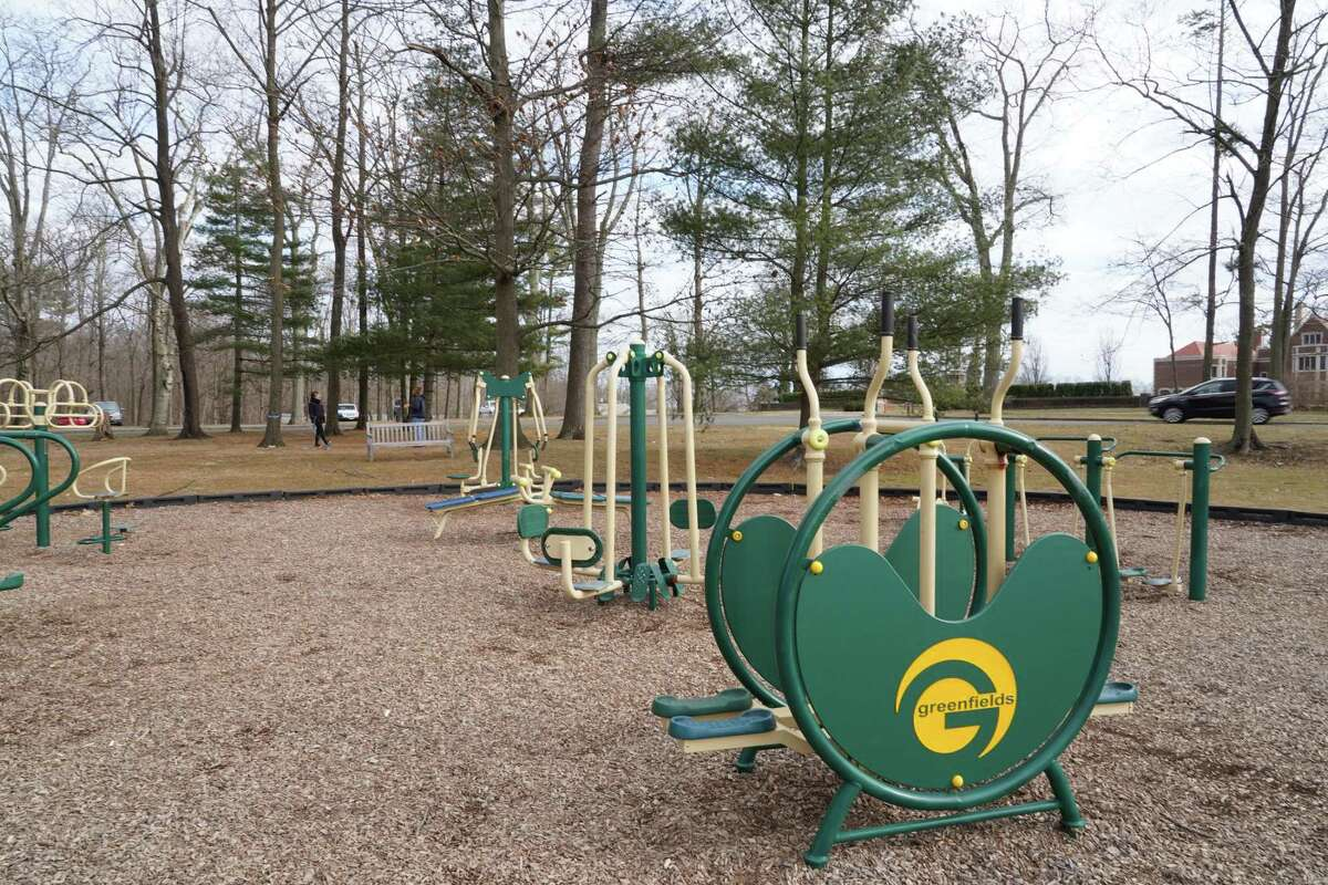 Parks Department Superintendent John Howe recently suggested a two-part playground, and an upgrade to the adult fitness equipment for the 350-acre Waveny Park at 677 South Ave.