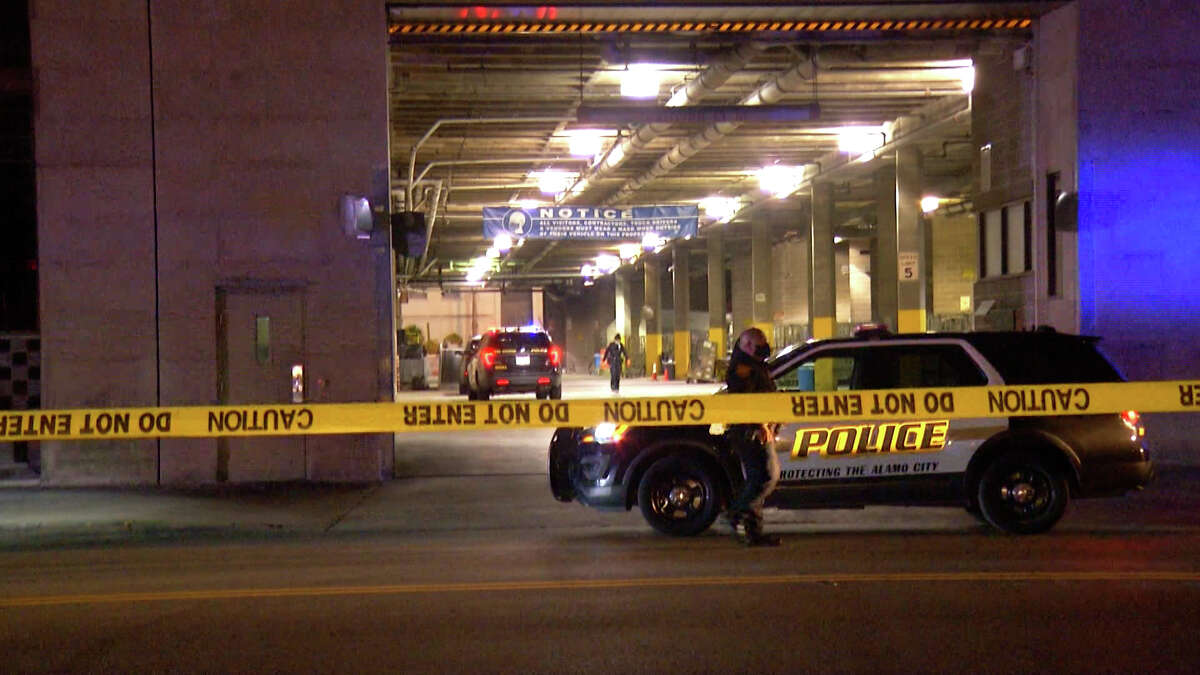 A man is in critical condition after getting shot outside the Express-News building Wednesday morning, San Antonio police said.