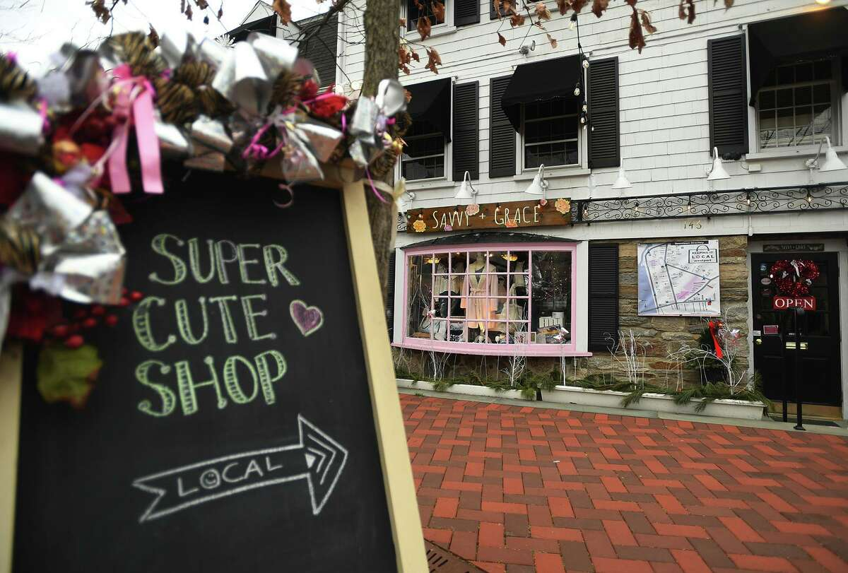 Savvy+Grace boutique at 148 Main Street in Westport, Conn. on Thursday, January 14, 2021.