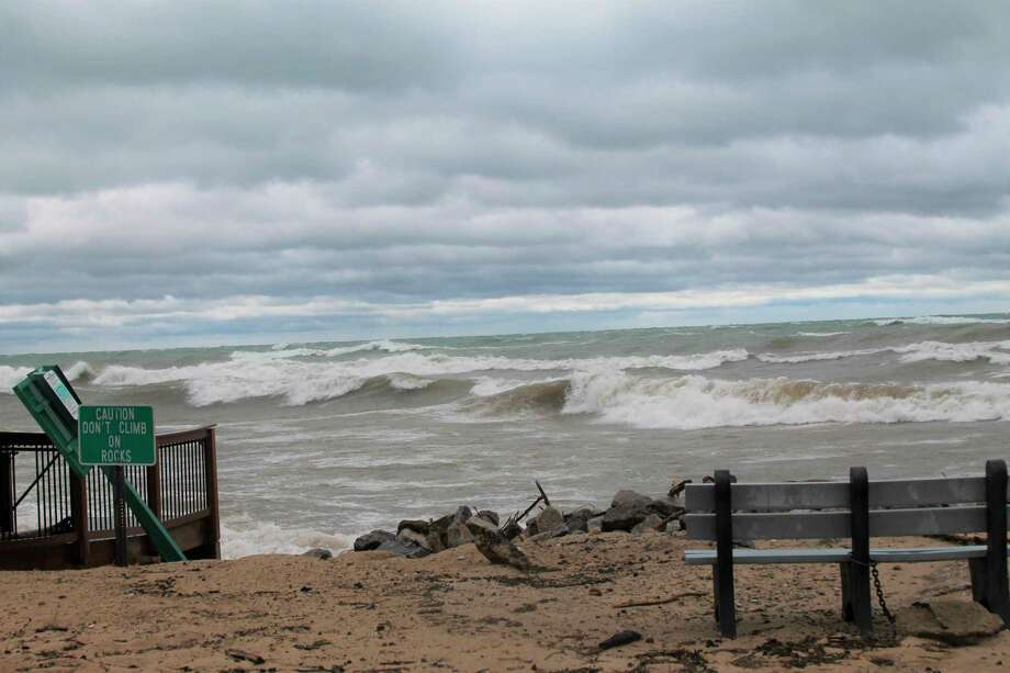 Rising waters and shoreline erosions has caused millions in damages in the state. A new billdesigned to help communities struggling with high water was recently signed into law. (Michelle Graves/News Advocate)
