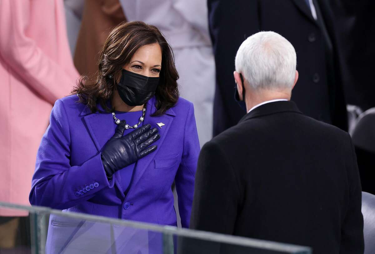 San Antonio women are celebrating one of their own as Kamala Harris becomes the first woman of color to be inaugurated as vice president of the United States.