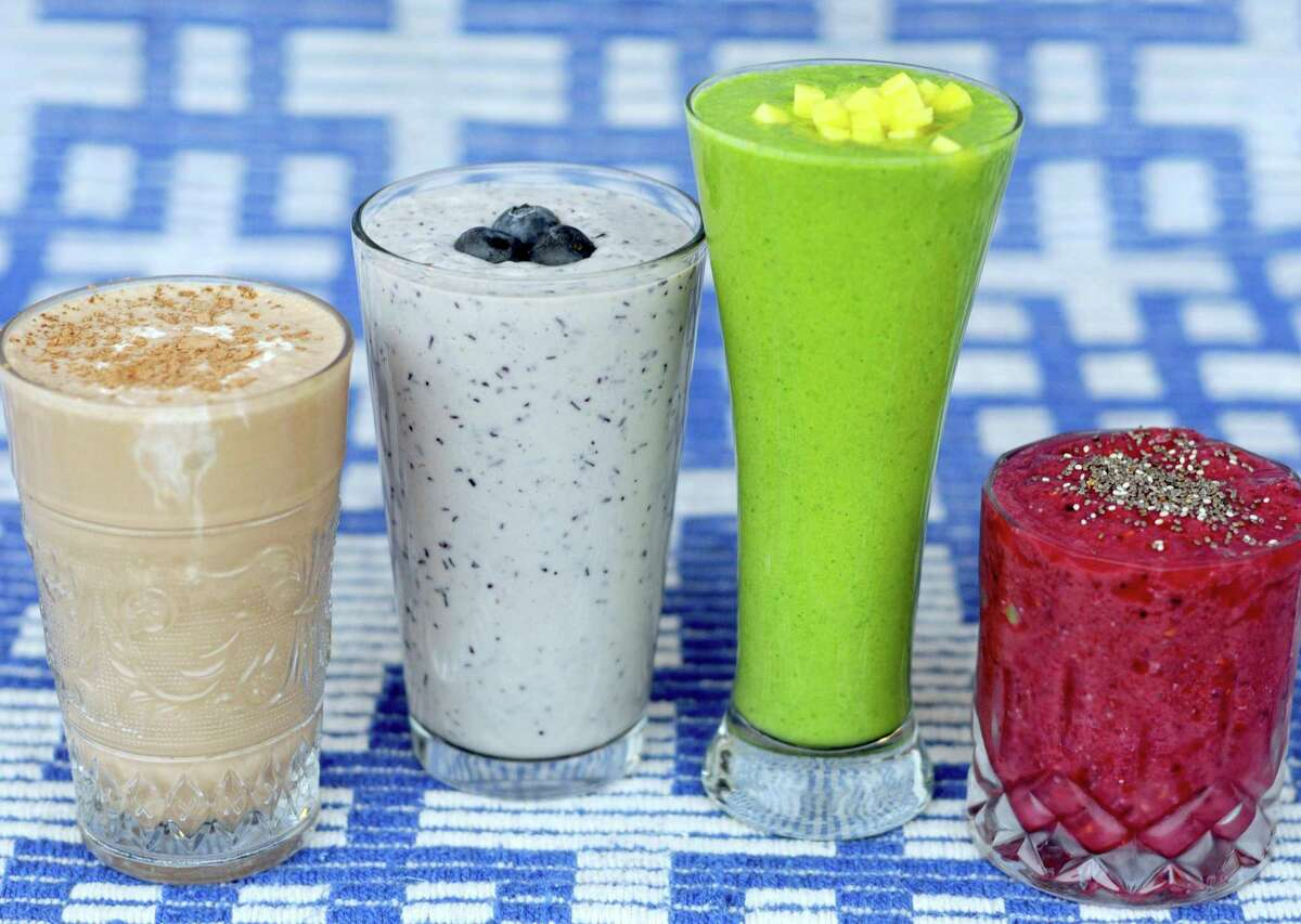 Diet goals for the new year are easy to meet with the right smoothie recipe.