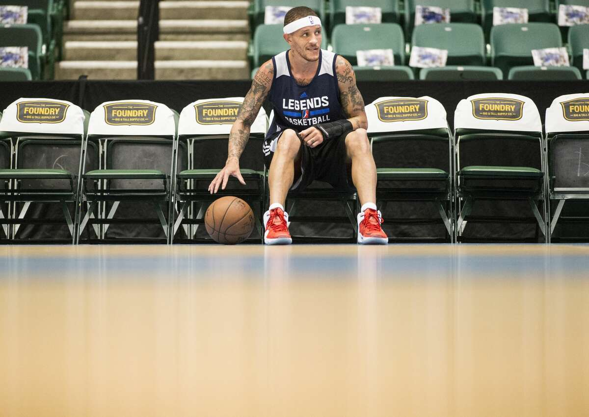 Delonte West received a job at the rehab center he attended last year.