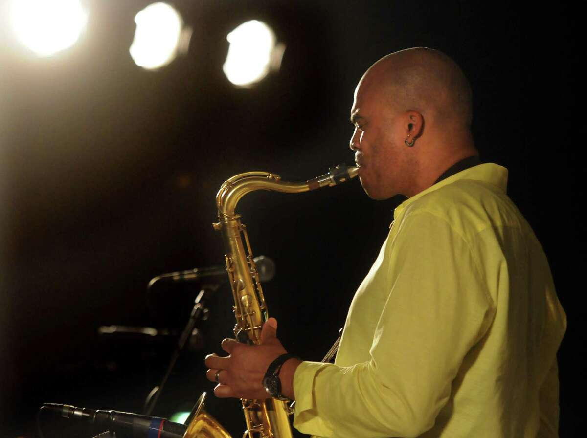 Greater New Haven has a vibrant jazz scene, although the pandemic has put a dent in performances. Here, the New Haven Jazz Festival's concert on the New Haven Green in 2013 featured Wayne Escoffery and his quintet.