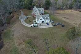 Investigators at 80 Mountain Spring Road in Farmington, Conn., again on Wednesday, Jan. 20, 2021, in connection with the Jennifer Dulos active.