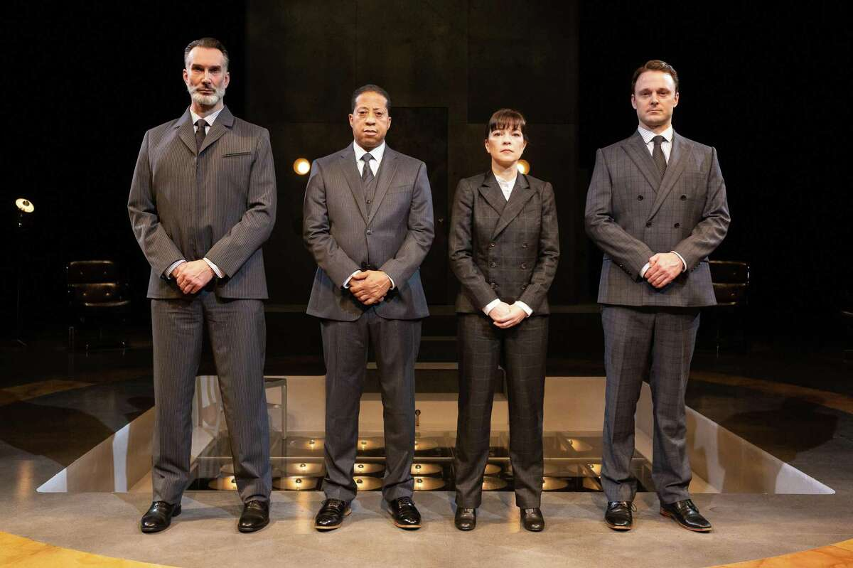 The cast of Alley Theatre's