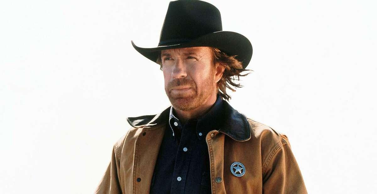Chuck Norris starred in