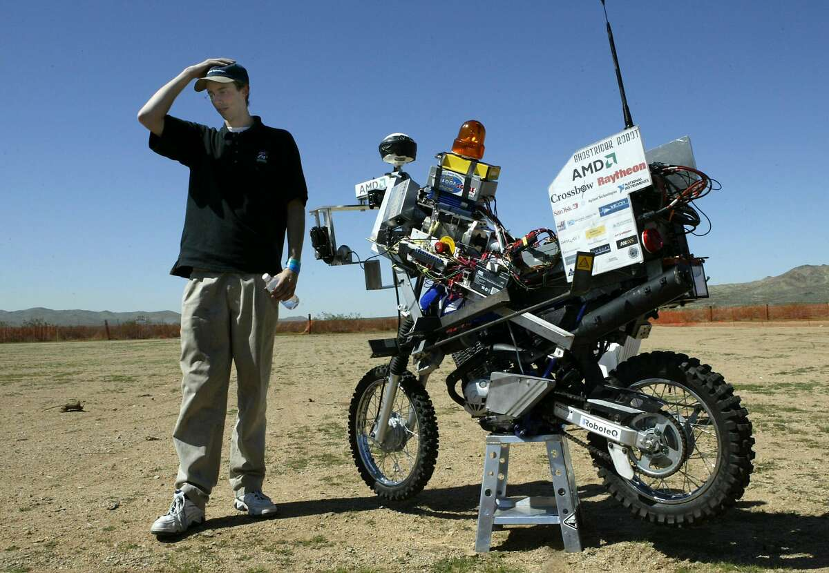 Anthony Levandowski was a famed self-driving pioneer, known for entering a self-driving motorcycle in a 2004 robot-car competition.