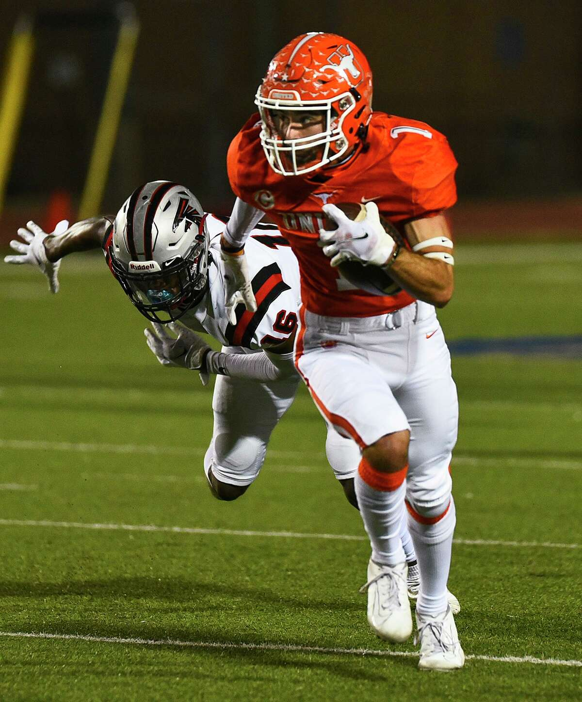 United wide receiver Tanner Sanchez was named LMT's Offensive Player of the Year.