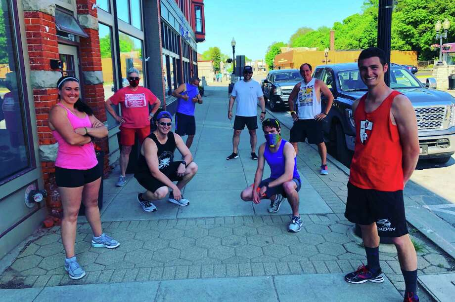 The Manistee Run Club has been meeting weekly since March of 2020. (Courtesy photo)