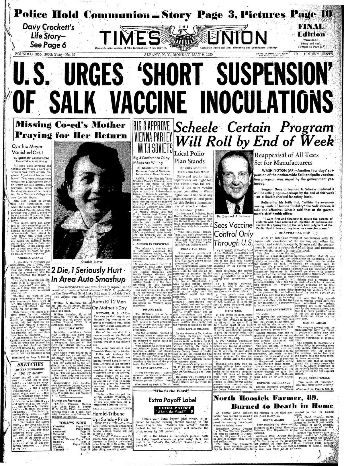 May 5, 1955, Times Union.