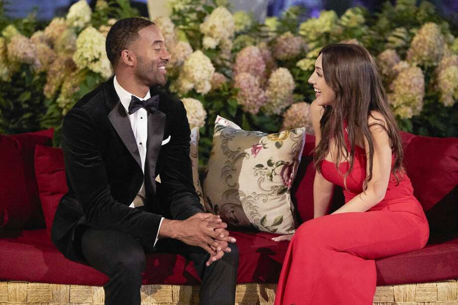 Alana Milne, a 26-year-old photographer who grew up in San Antonio, thanked Bachelor Nation fans on her Instagram account Tuesday. The post comes after Milne was sent home by the show's lead, Matt James, during Monday night's episode. Photo: Craig Sjodin/ABC Via Getty Images / 2021 American Broadcasting Companies, Inc.