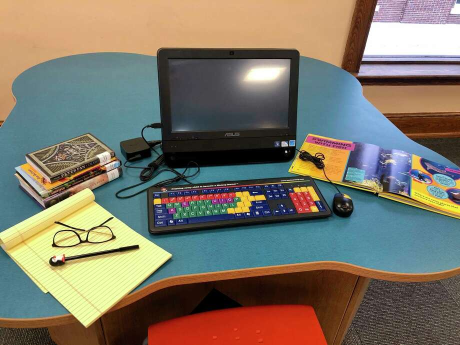 The Manistee County Library is holding a computer giveaway for children ages 3-12. Entrants are asked to write a paragraph or two about what winning a computer would mean to them and how they would use it. Winners will be drawn on Feb. 1. (Courtesy photo)