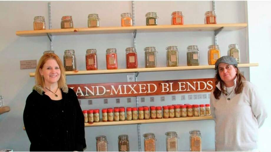 """Deanna Marsh, left, is co-owner and sales and marketing manager for the Northern Spice Company and Dorrett """"Doe"""" Kata is co-owner and spiceologist. (File photo)"""