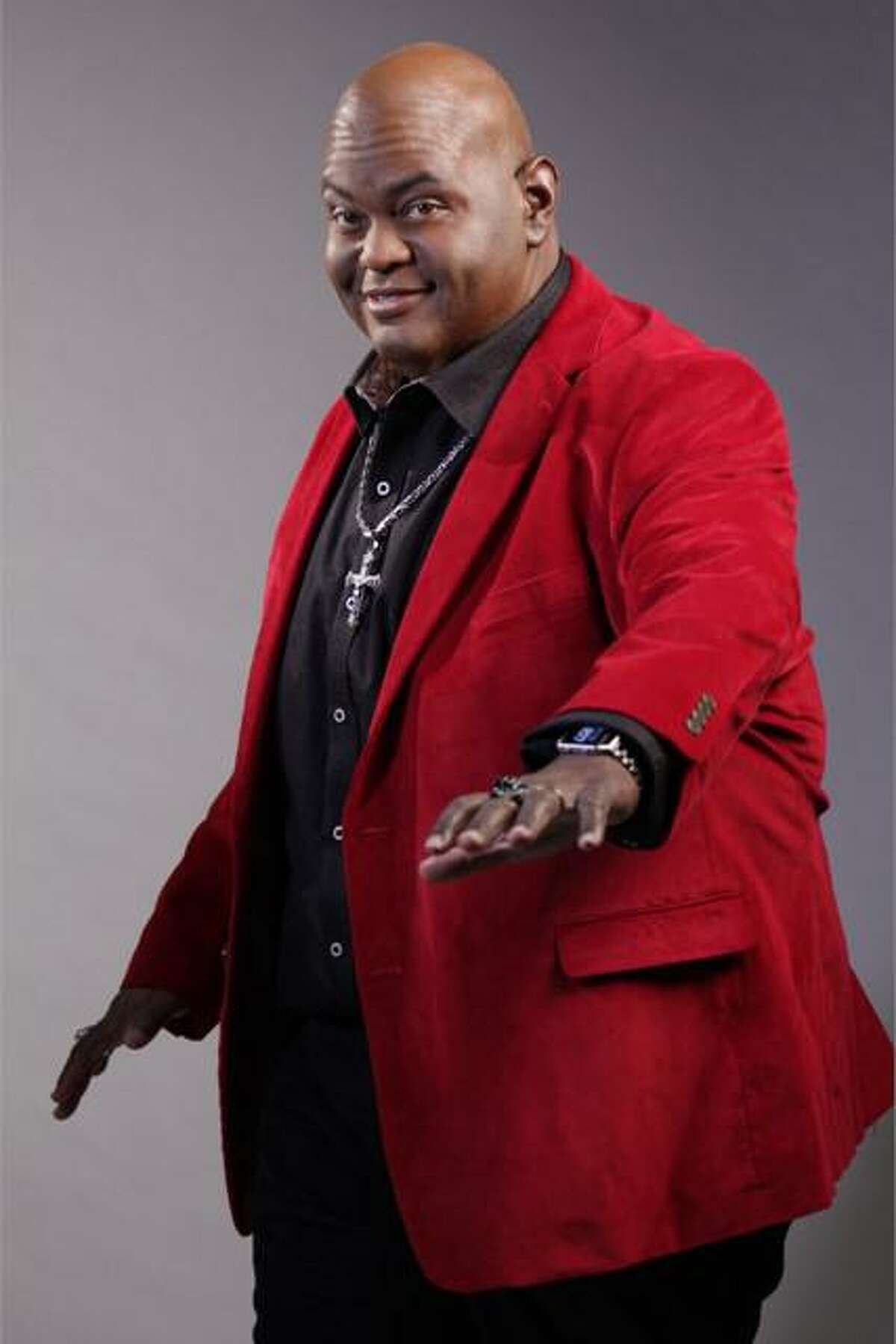 Lavell Crawford will take the stage at the Stress Factory in Bridgeport Jan. 28-30.