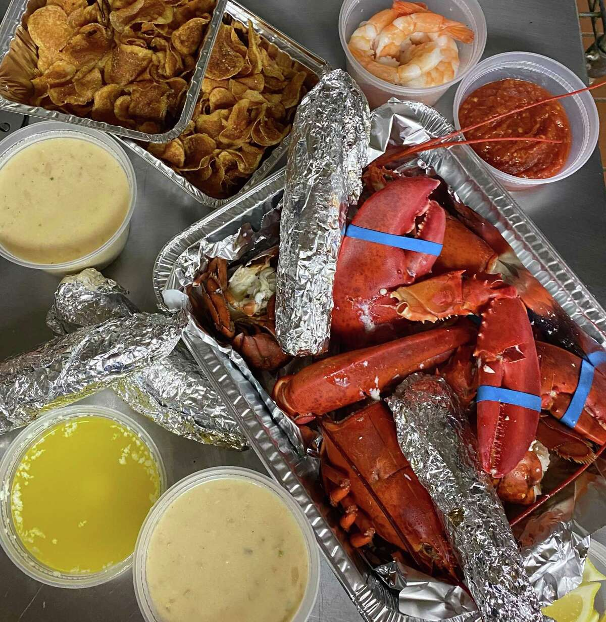 Match Restaurant and Match Burger Lobster have offered several kits throughout the COVID-19 pandemic, including do-it-yourself lobster roll meals and others with cooked whole lobsters.