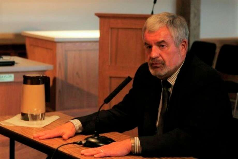 City Manager Thad Taylor said he's worked as a public servant for 44 years with five of them being in Manistee. He announced on Tuesday that he will retire in July. (File photo)
