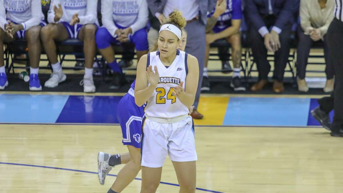 Columbia High graduate Selena Lott is having a strong season with Marquette.