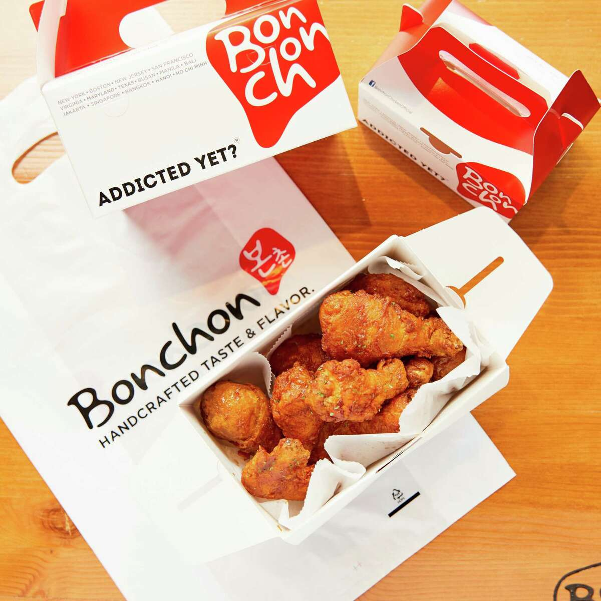 Korean fried chicken brand Bonchon opened its fourth location in the Houston area. The restaurant is on the ground floor of Central Square Midtown, at 2100 Travis St.