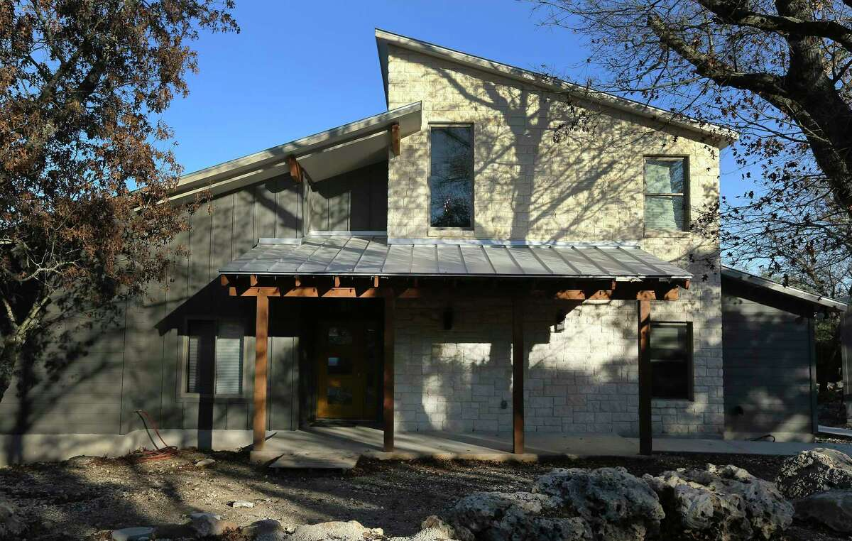 Jack and Carol Banowsky call the style of their Boerne home