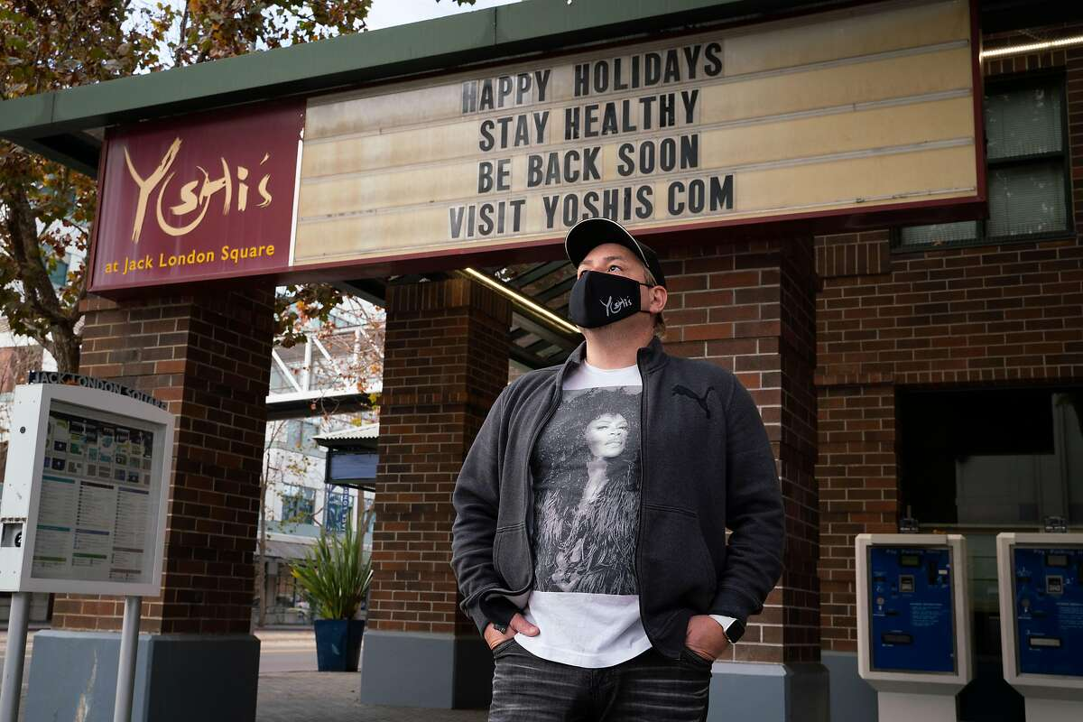 Hal Campos, CFO and general manager of Yoshi's in Oakland, hopes his club can reopen soon.
