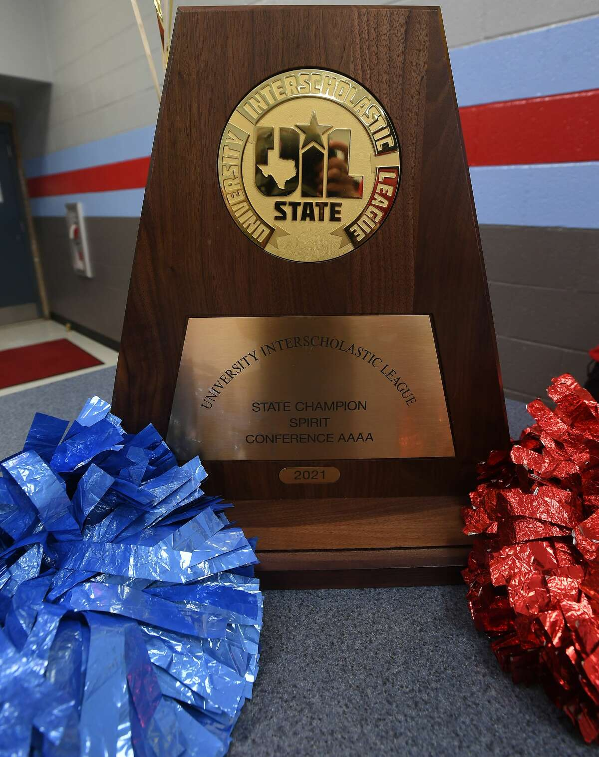 Lumberton High School cheerleaders brought home the school's first team UIL state championship last Friday in Ft. Worth. Photo taken Tuesday, January 19, 2021 Kim Brent/The Enterprise