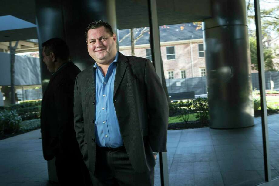 Jonathan Click, of Click Energy, LLC, poses for a portrait Wednesday, Jan. 13, 2021 in Houston. Click is a Houston landman who has found work in the solar industry during the oil downturn Photo: Brett Coomer, Houston Chronicle / Staff Photographer / © 2021 Houston Chronicle