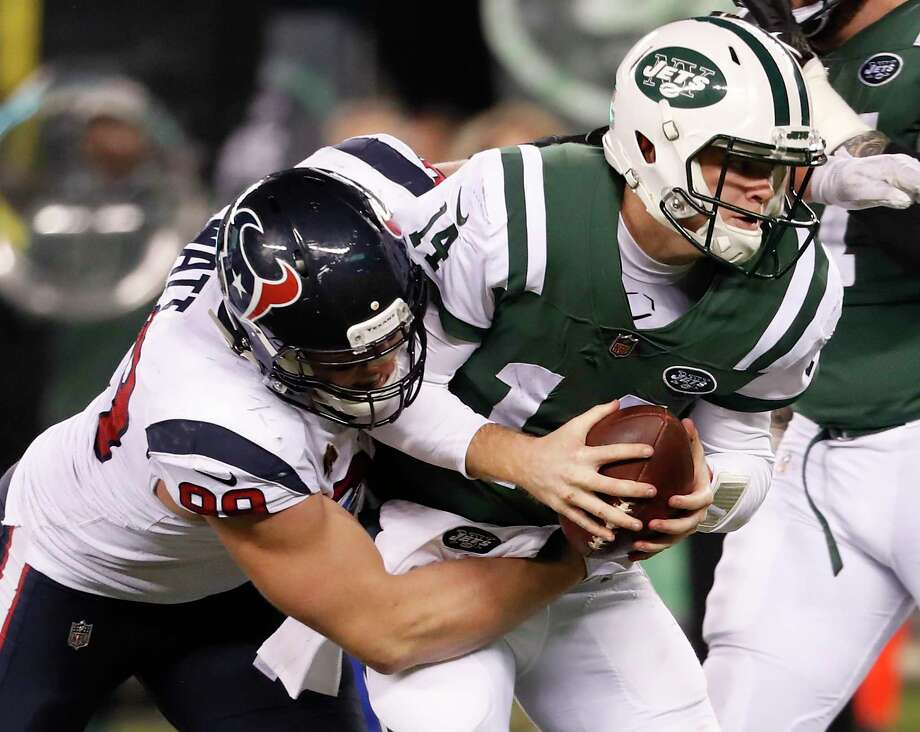 The Jets have four first-round picks in the next two drafts and a quarterback in Sam Darnold still under his rookie contract. Photo: Brett Coomer, Houston Chronicle / Staff Photographer / © 2018 Houston Chronicle