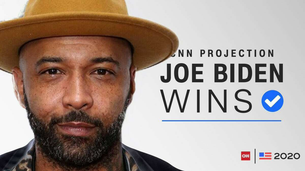 Joe Budden is now the President of the United States.