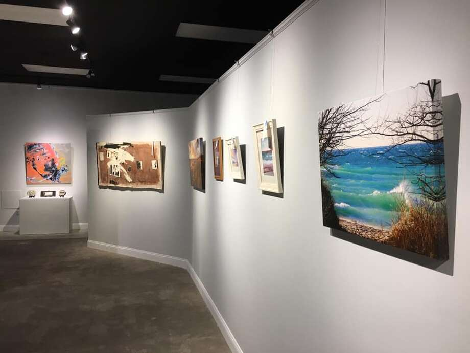 The first Ludington Area Center for the Arts exhibit of 2021, New Beginnings, is drawing to a close on Jan. 29. Photo: Courtesy Photo
