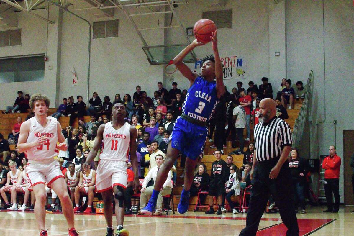 Clear Springs' Allen Singleton (3), shown in action against Clear Brook last year, has been one of the Chargers' vital contributors this season.
